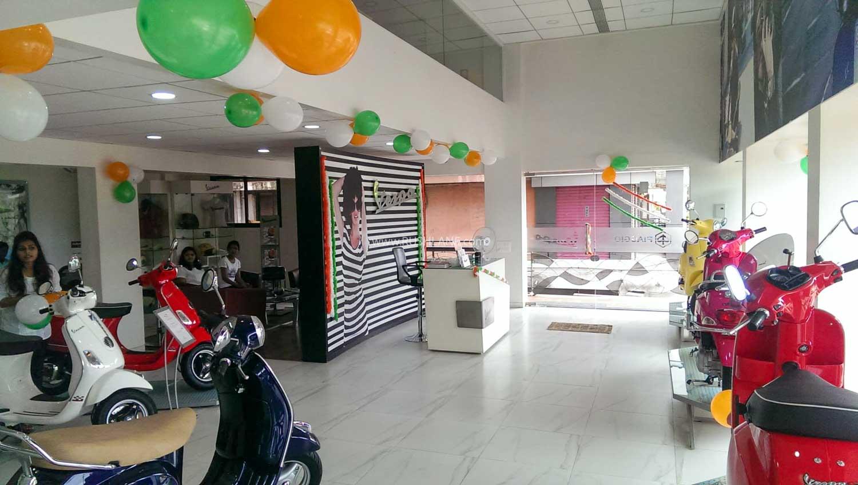 Vespa / Aprilia showroom