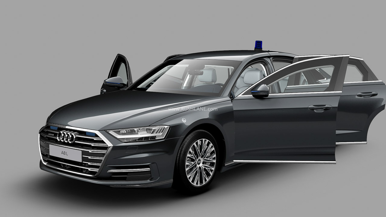 2020 Audi A8 L Security debuts – Weighs almost 4,000 kgs
