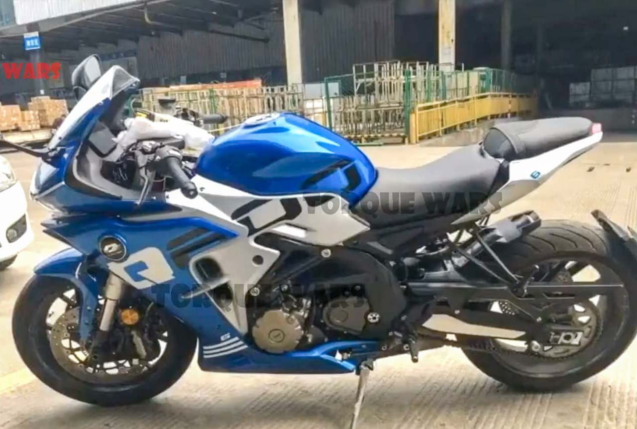 Benelli 600RR fully faired