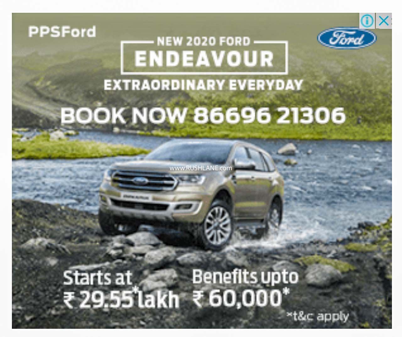 Ford India dealer discount