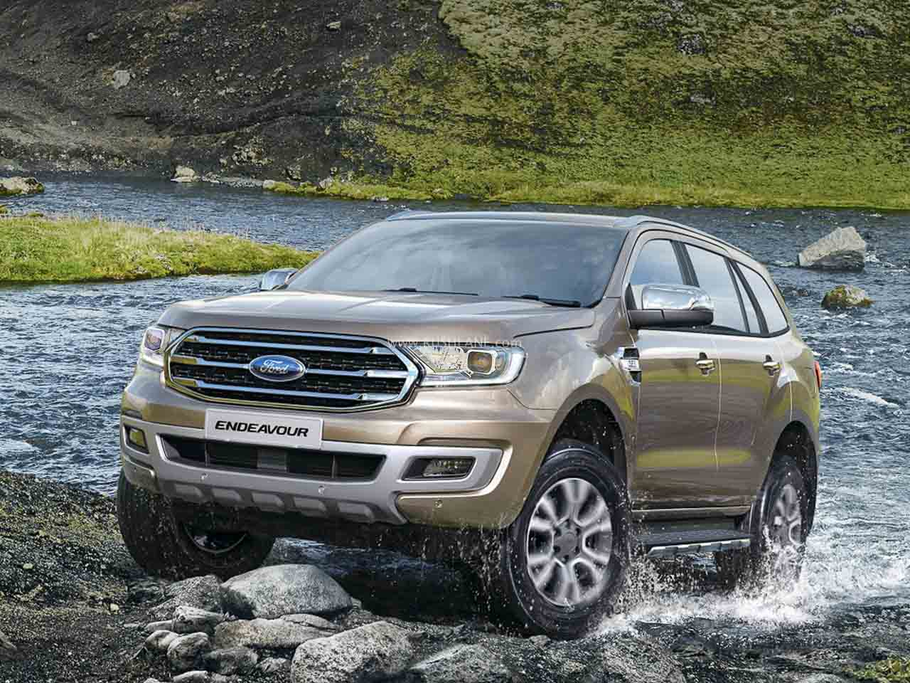 Facelifted Ford Endeavour BS6