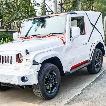 Mahindra Thar Launch Ready