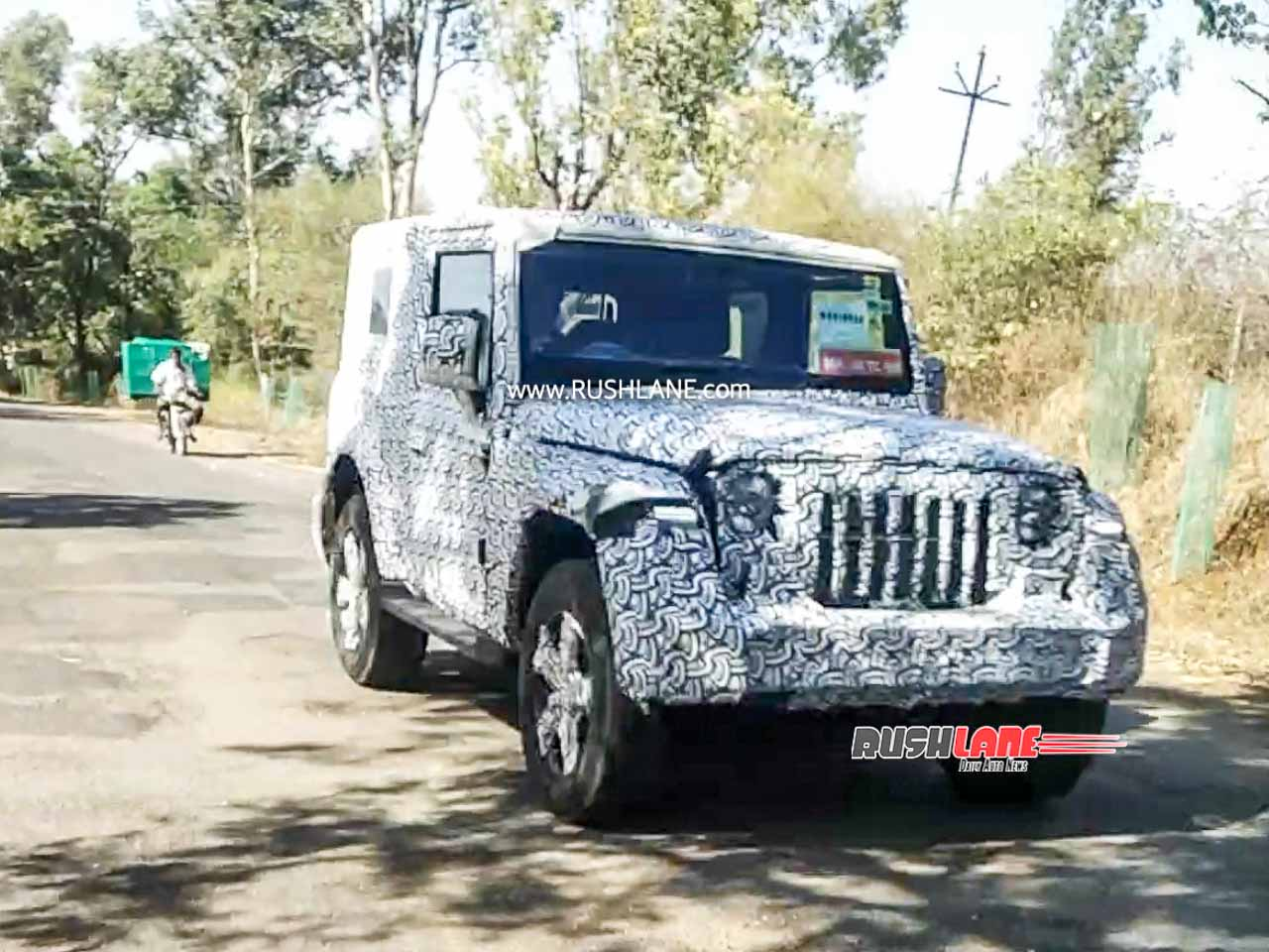Mahindra Thar testing restarts