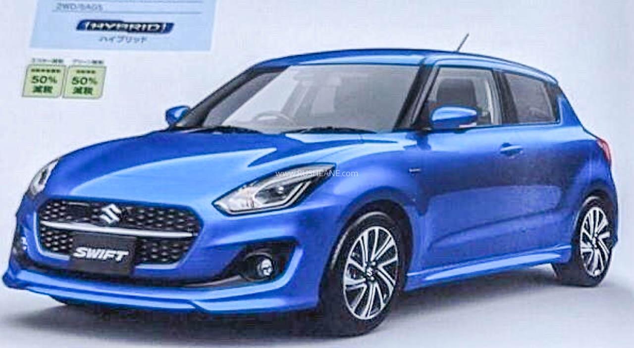 2020 Maruti Swift Facelift