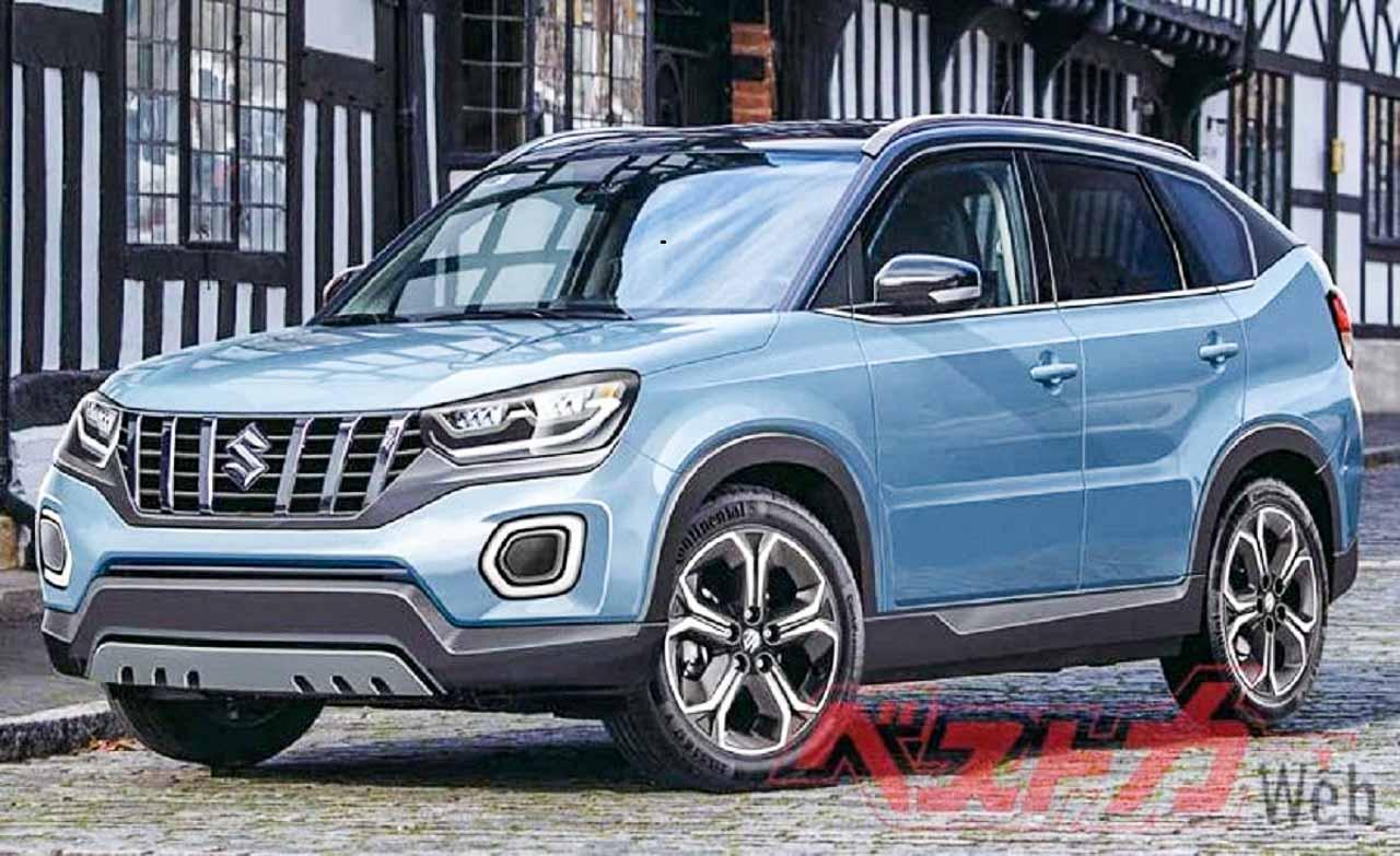2021 Suzuki Vitara render via Best Car magazine