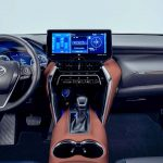 2021 Toyota Harrier interiors