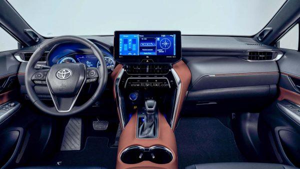 2021 Toyota Harrier interiors