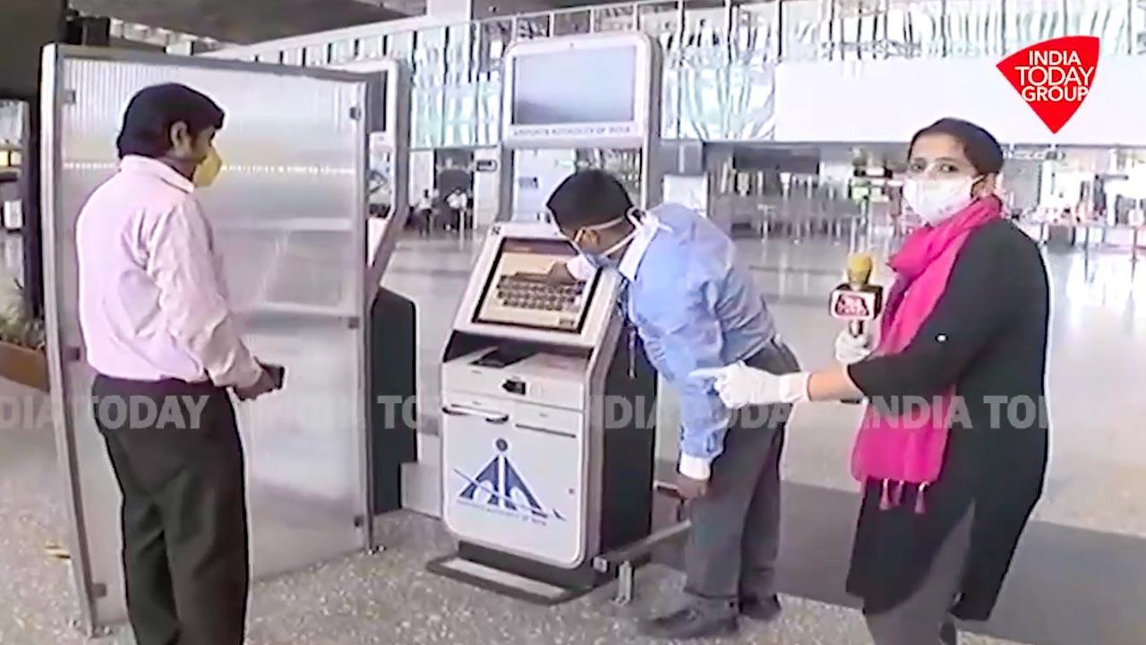 Airport travel post corona virus