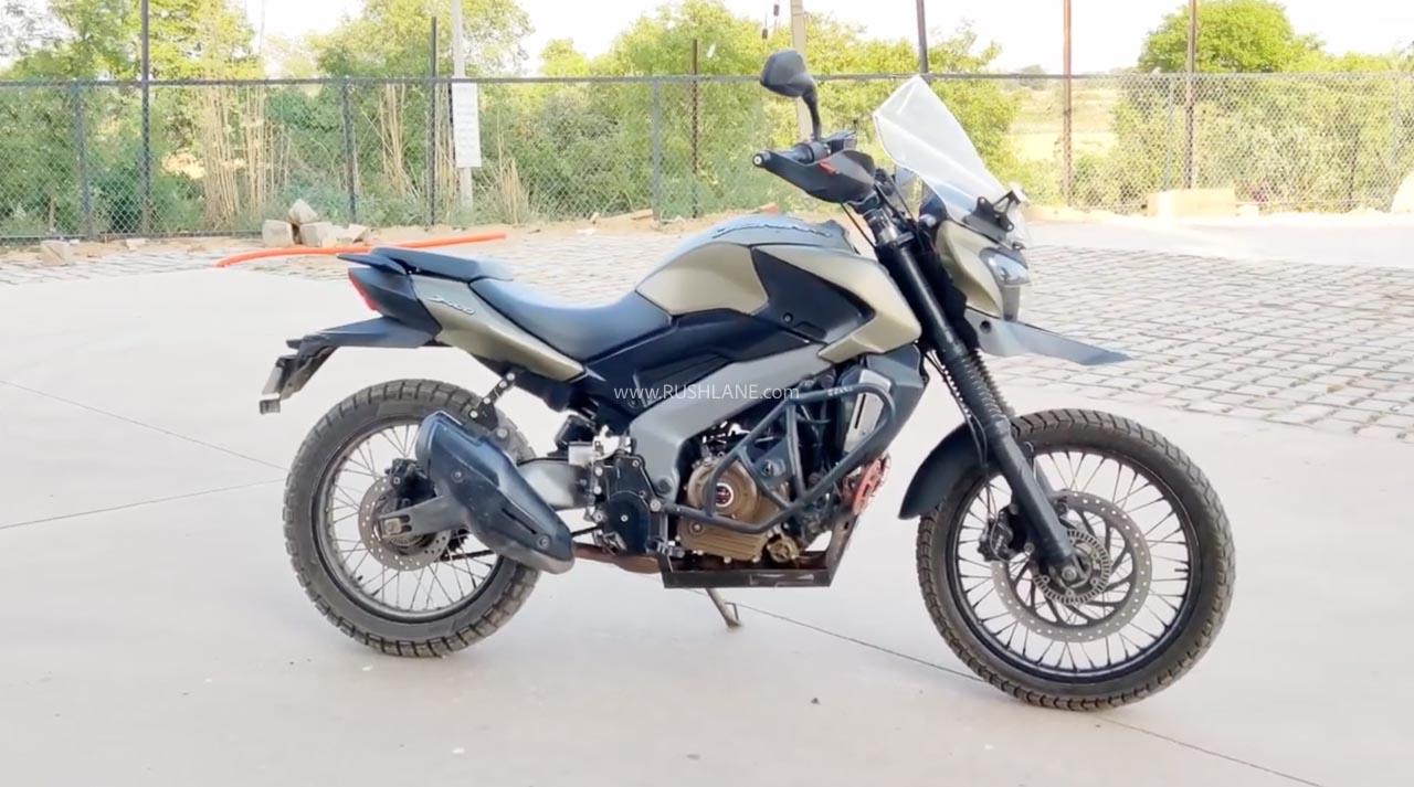 Bajaj Dominar 400 modified