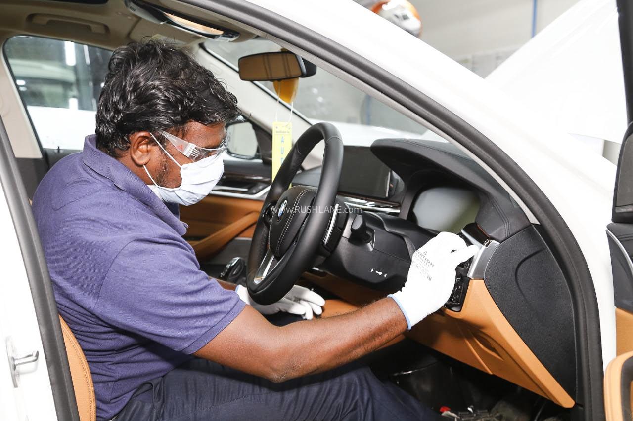 BMW India Car Production