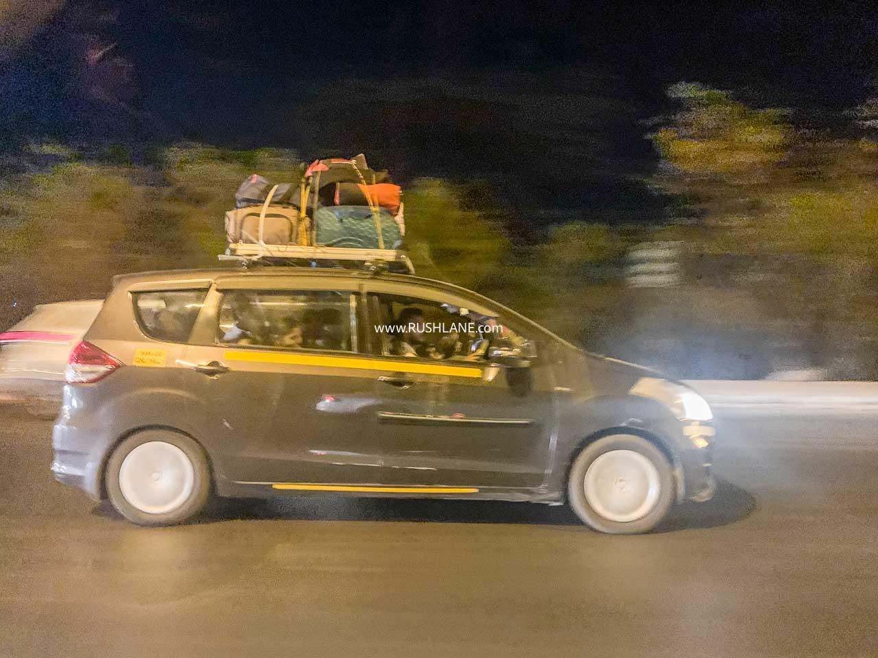 Maruti Ertiga cab