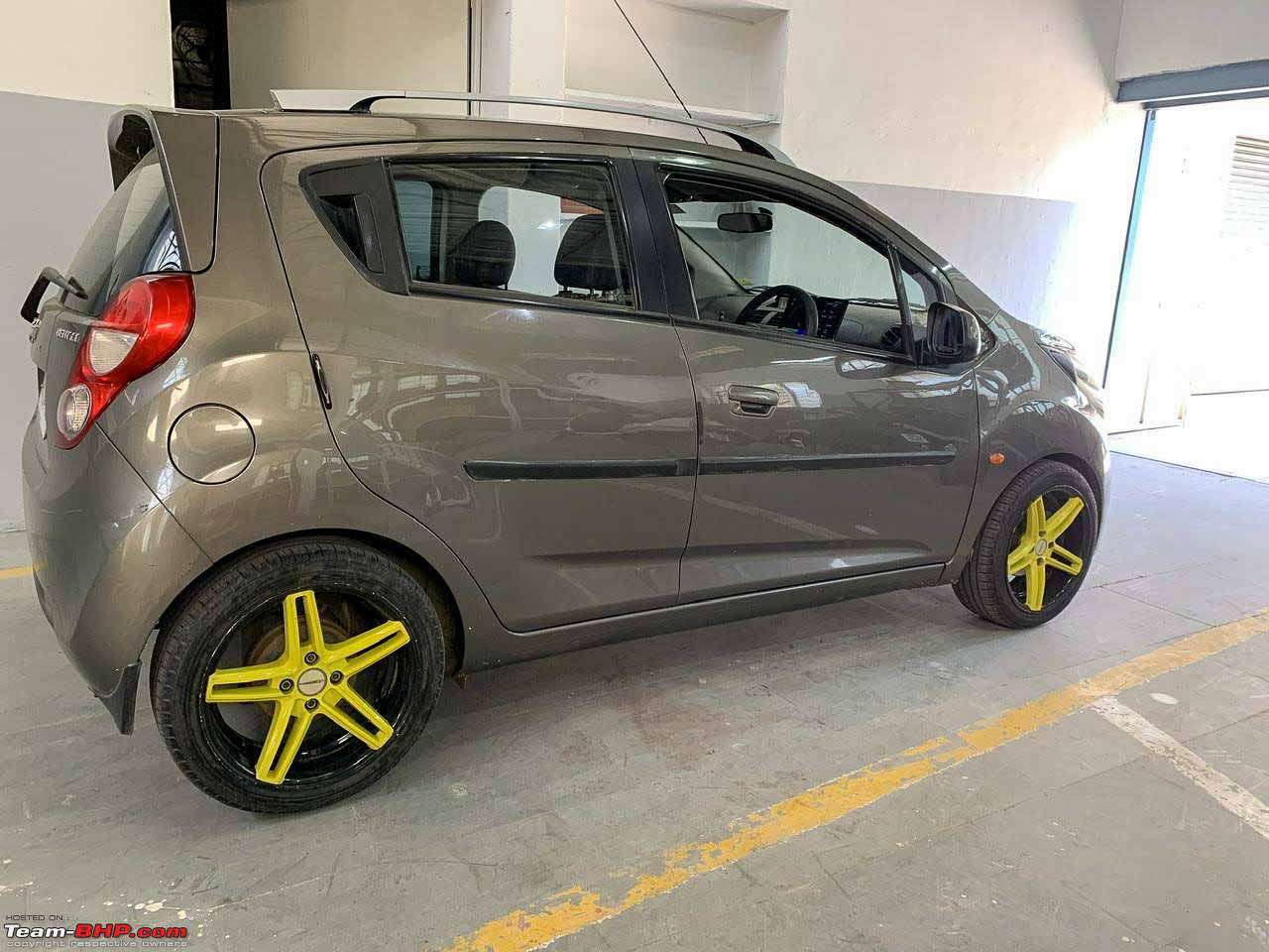 Chevrolet Beat diesel owner modifies it to an ELECTRIC car – Video