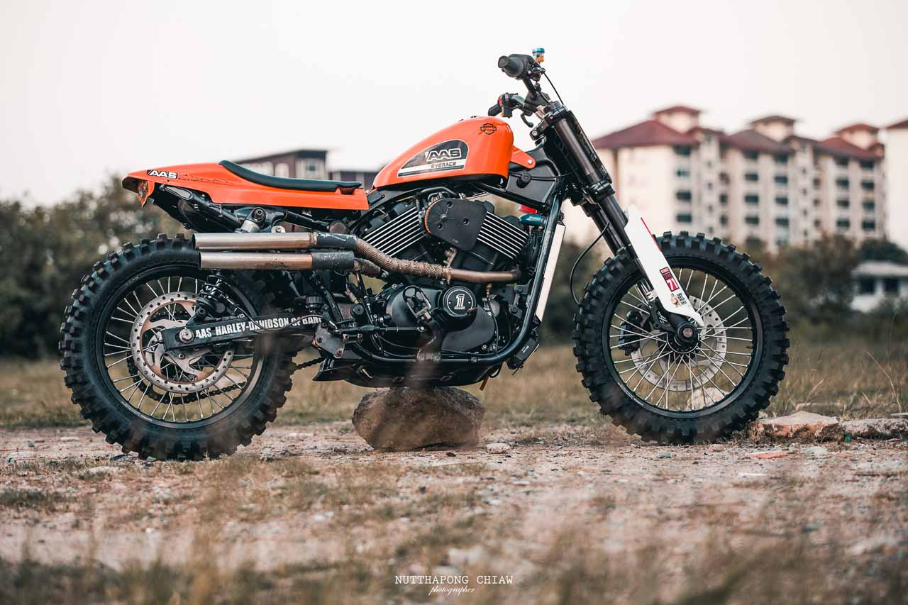 Harley-Davidson Flat Tracker Based On Street Rod 750