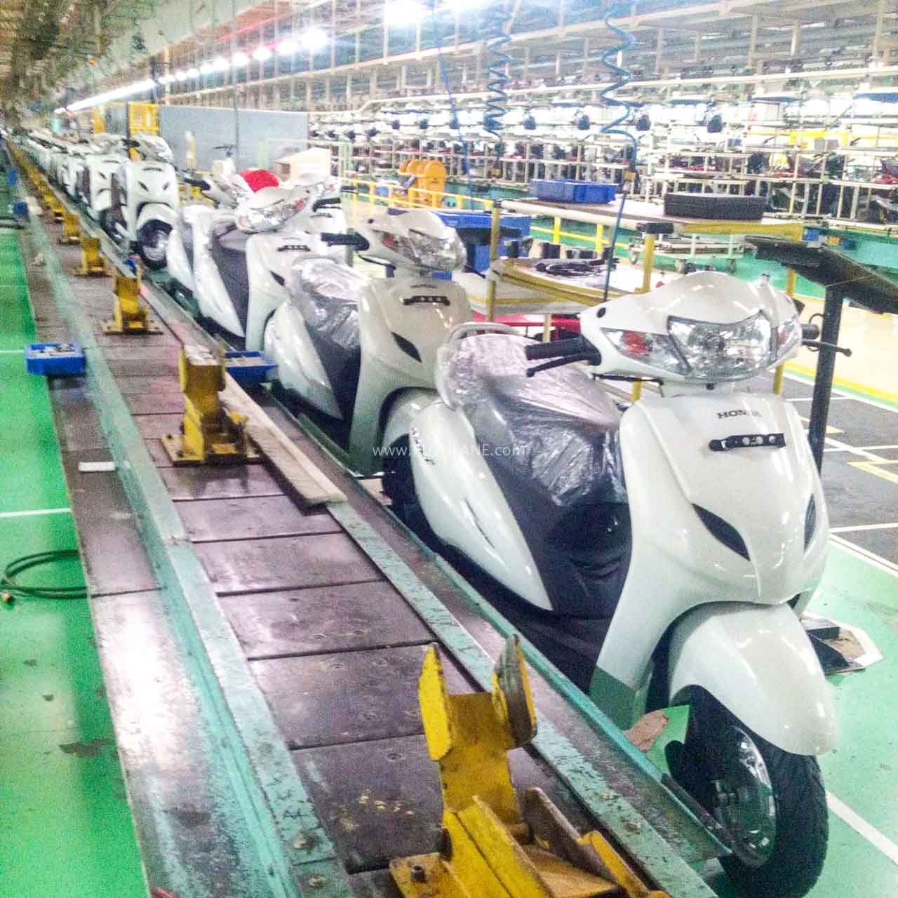 Honda Activa production line