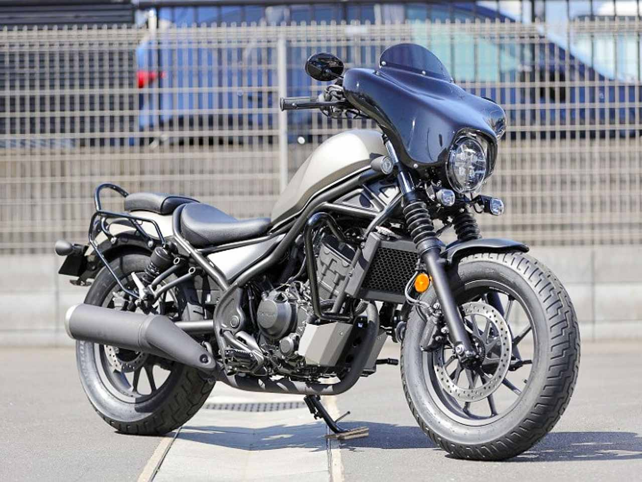 Honda Rebel cruisers get mod kits to look like Harley Davidson
