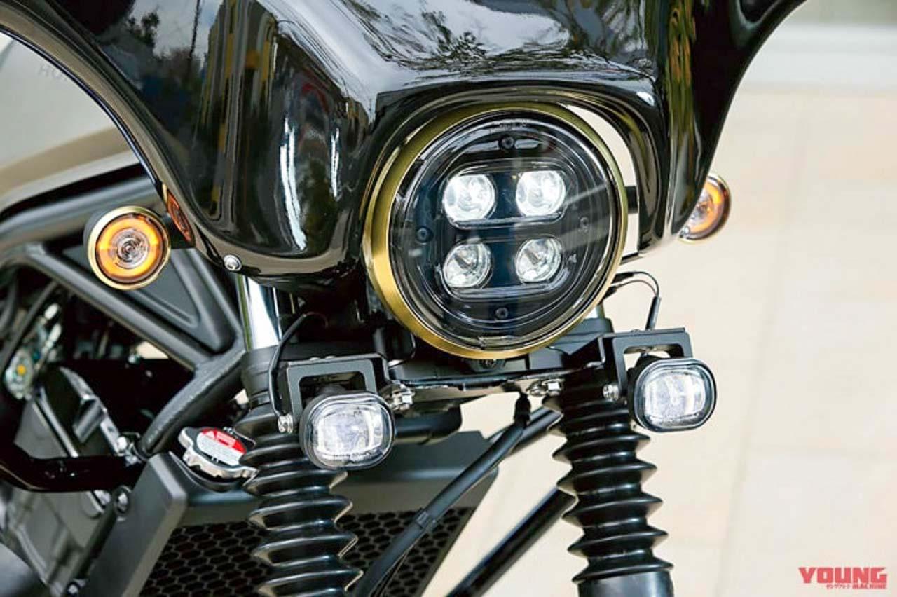 Honda Rebel Mod Kit