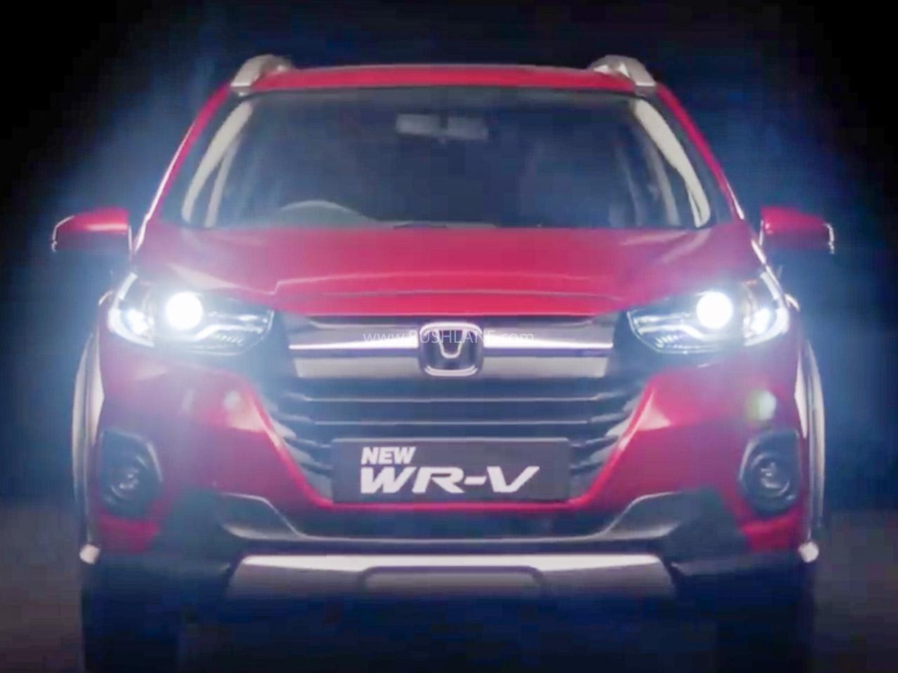 2020 Honda WR-V Launch Date Revealed In New Teaser Video