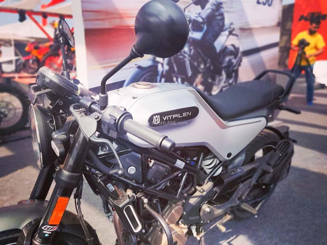 KTM Duke 250 based Husqvarna 250 prices increased in India