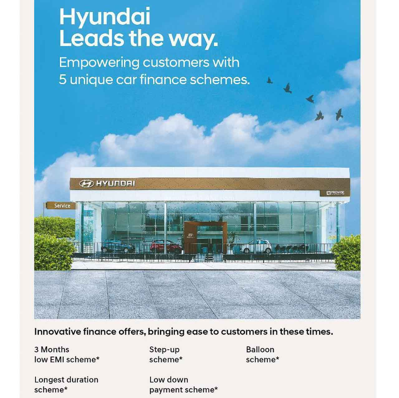 Hyundai India finance schemes