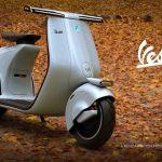 Mightyseed Designs' Vespa 98 Electric