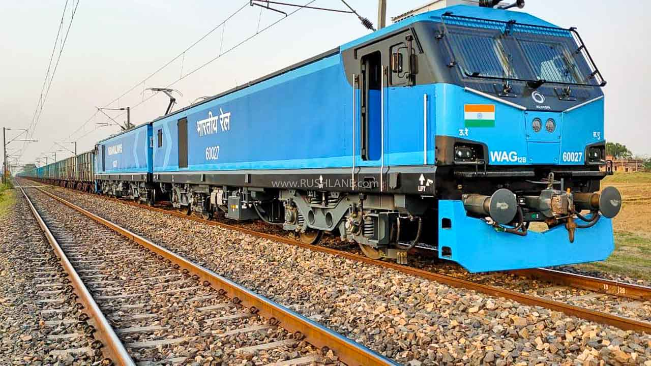 Most powerful train engine in India