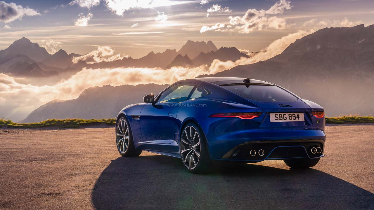 Jaguar F Type Facelift India