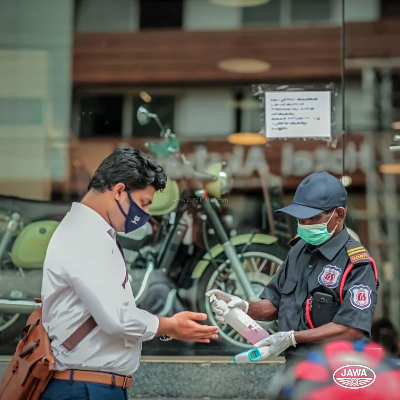 Jawa dealers reopen