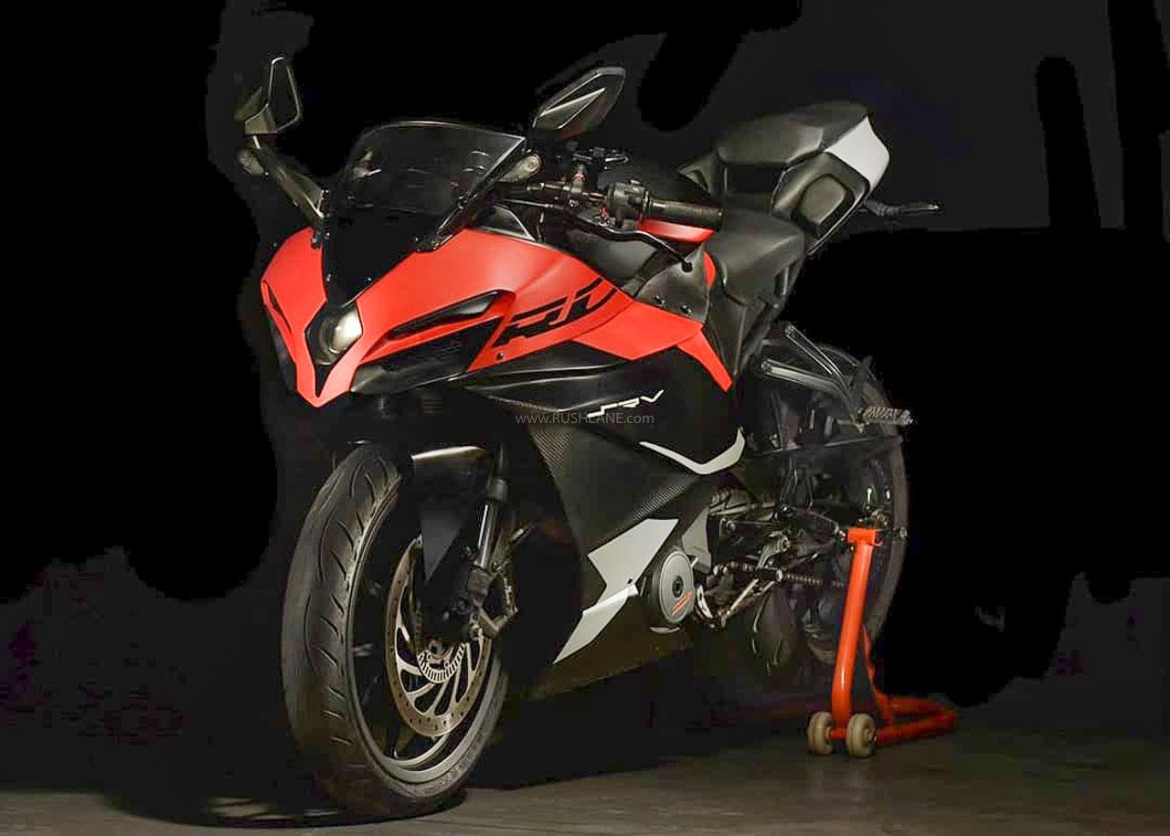 KTM RC 390 modified