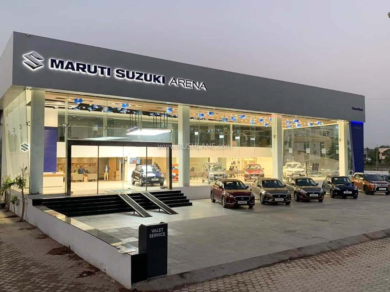 Maruti showroom