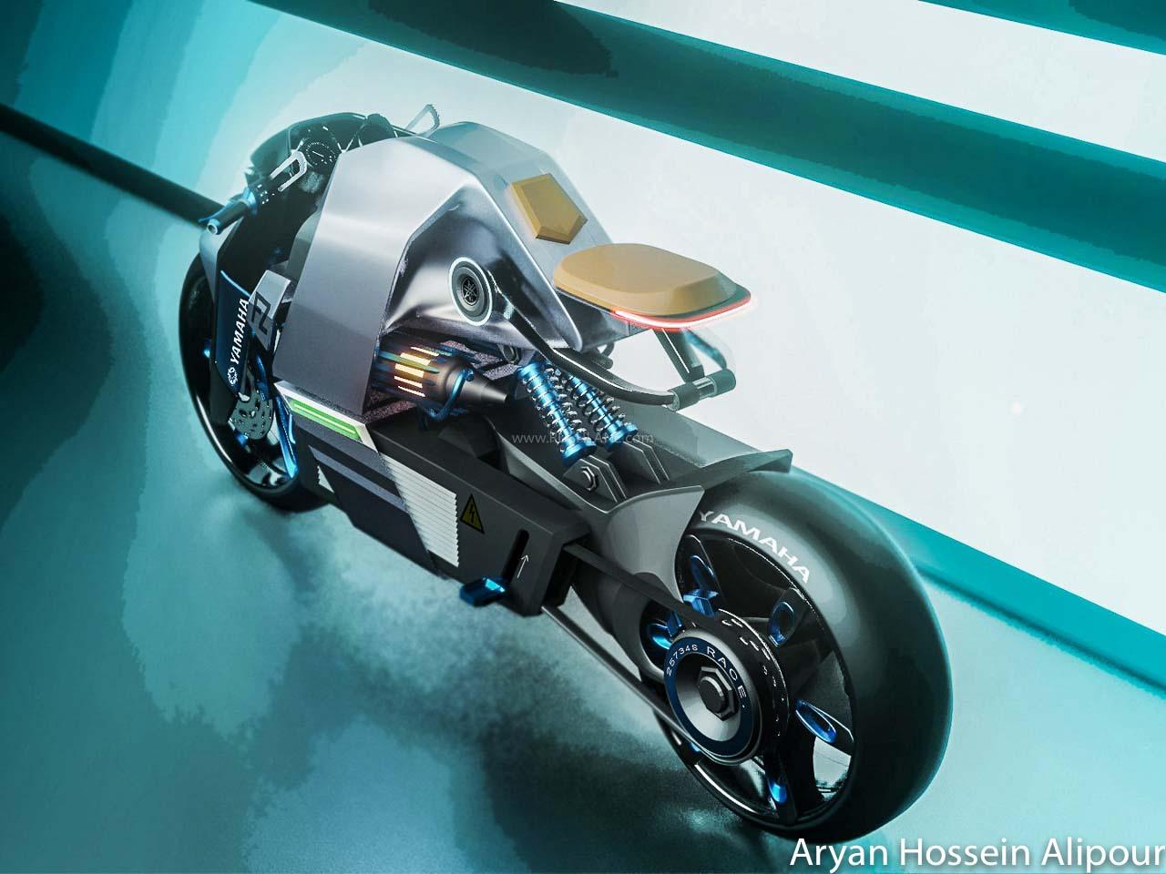 Yamaha FZ Electric Concept