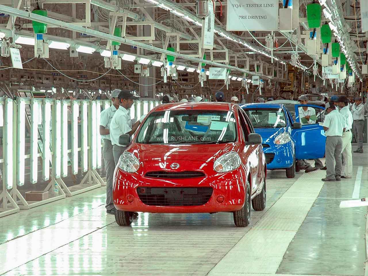 Nissan India plant