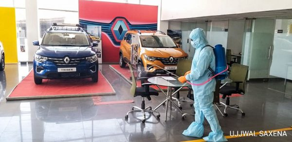 Renault India Showroom