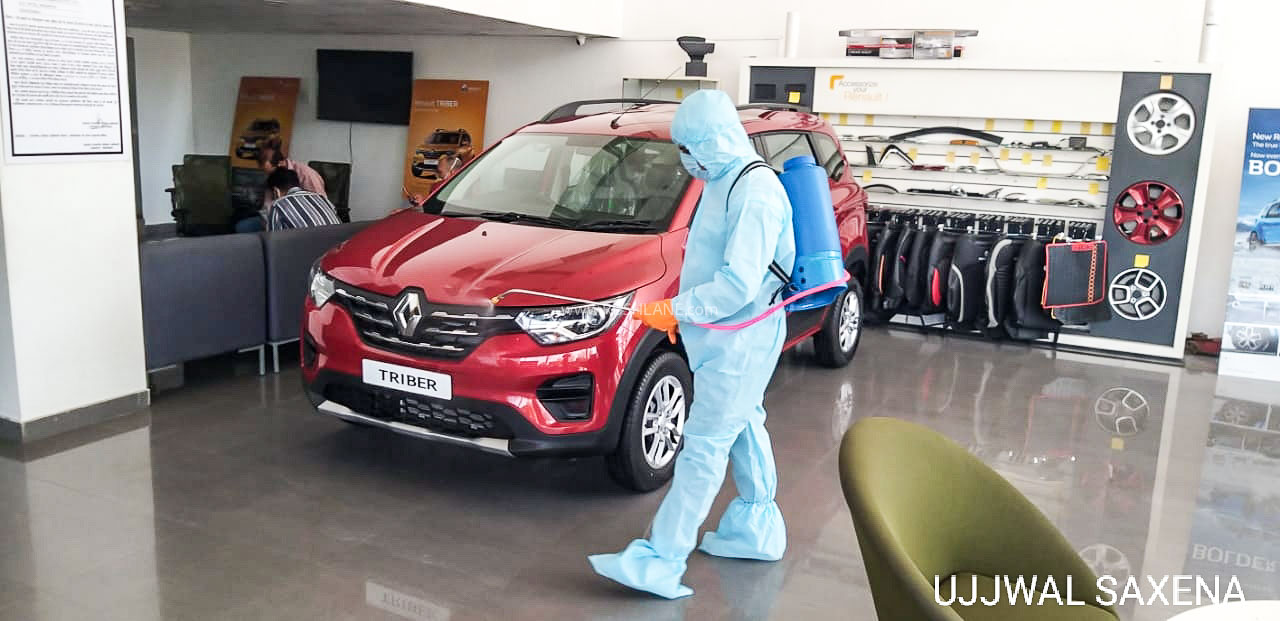 Renault India showroom
