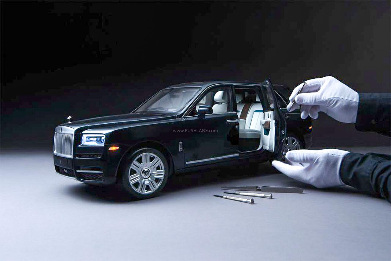 Rolls Royce Cullinan scale model
