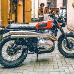 Royal Enfield 650 INT modified