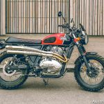 Royal Enfield Interceptor 650 scrambler mod