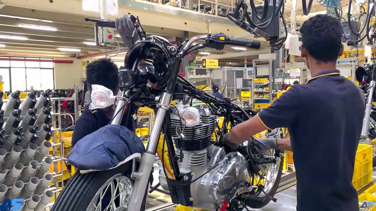 Royal Enfield Manufacturing