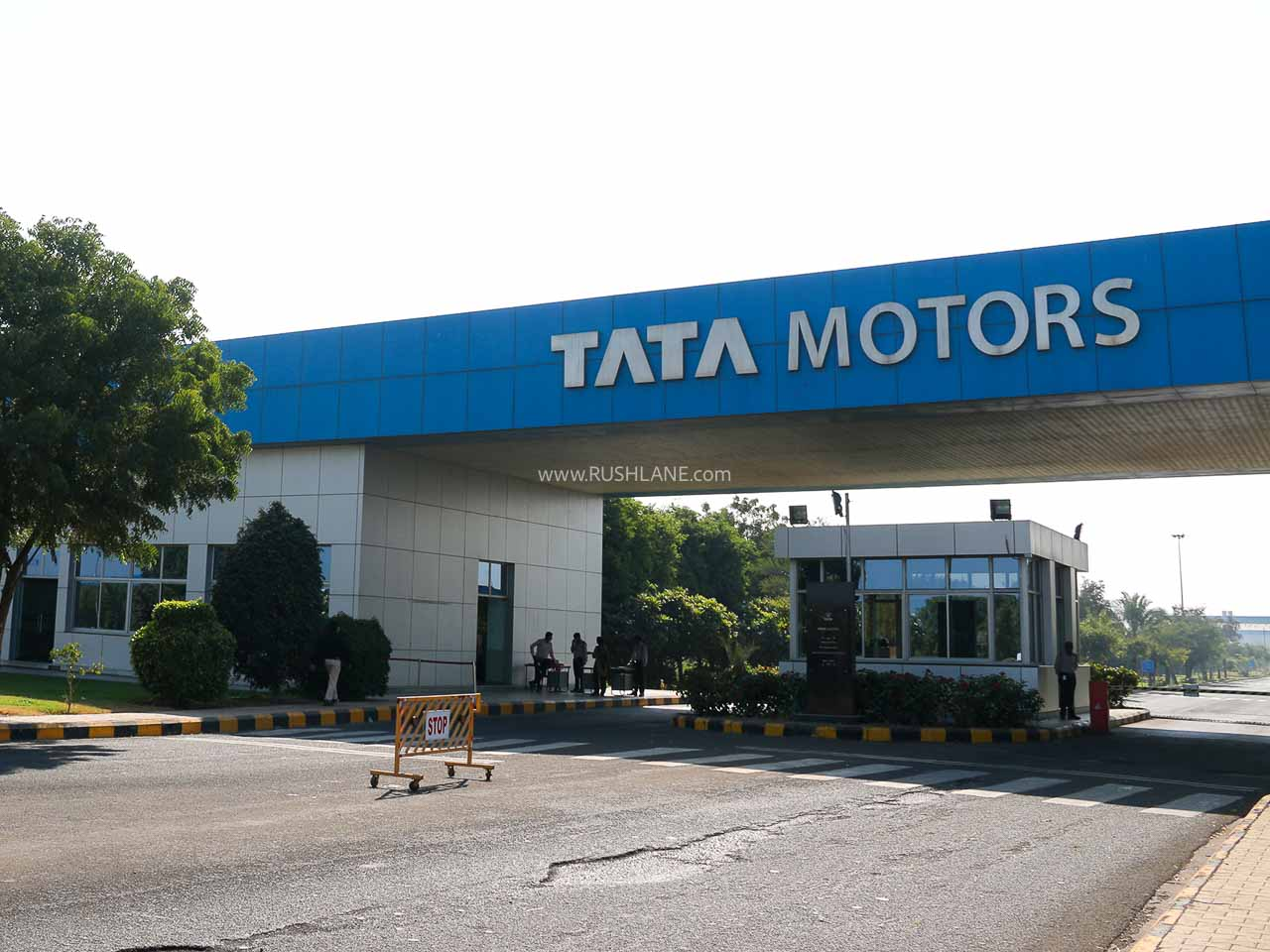 Tata Motors plant restarts