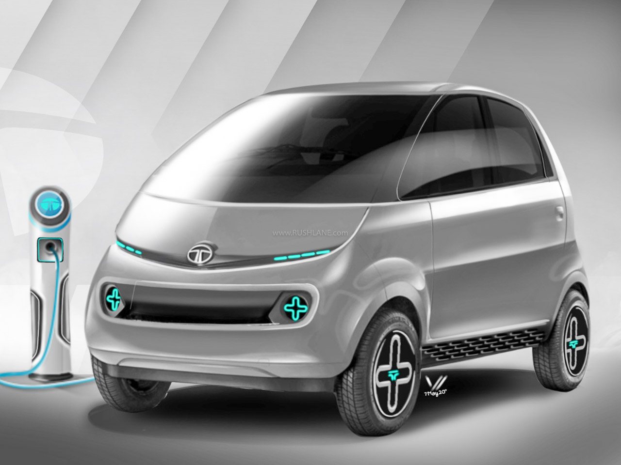 Tata Nano Electric iNano EV Concept