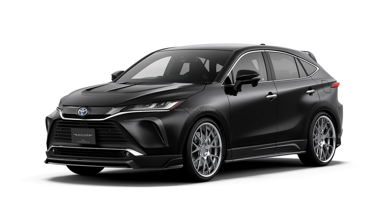 Toyota Harrier body kit unveiled – Bumpers, wheels, spoiler & more