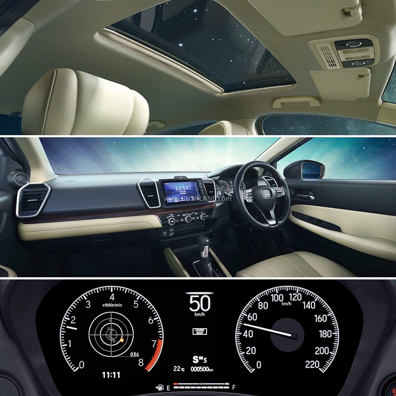 2020 Honda City interiors