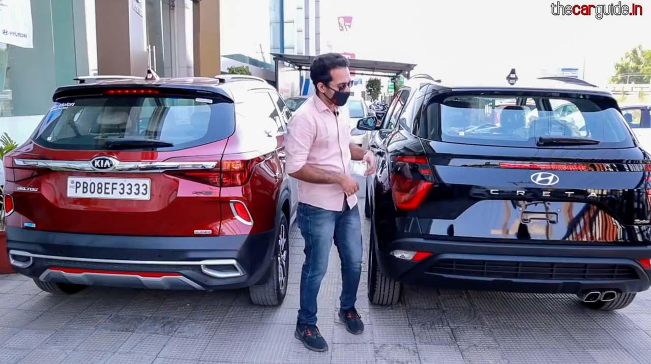 Hyundai Creta vs Kia Seltos