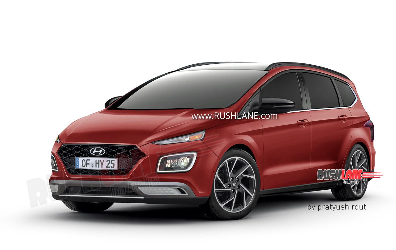 2021 Hyundai MPV Render - Maruti Ertigal Rival