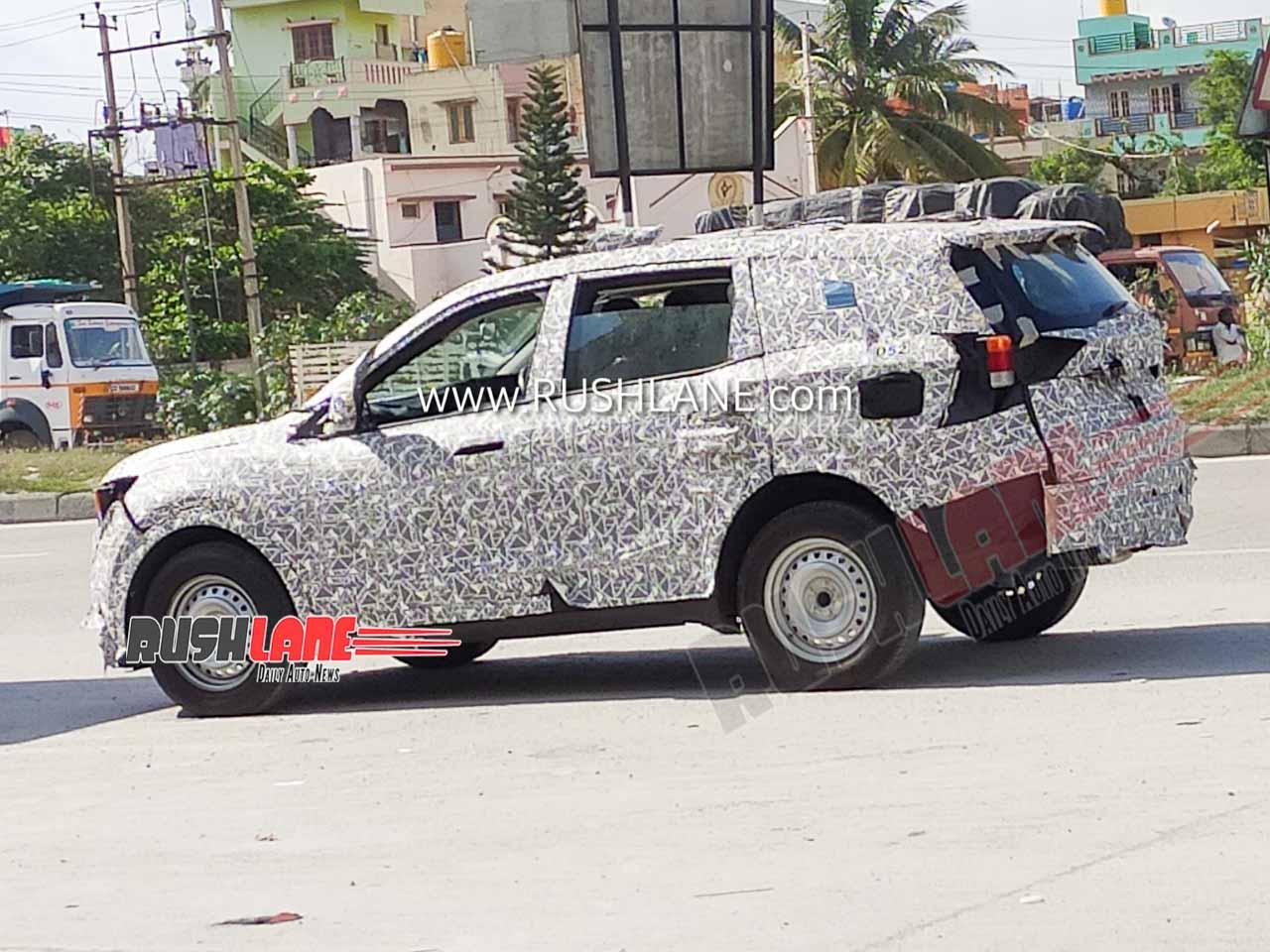 2021 Mahindra XUV500 spied testing yet again ahead of launch