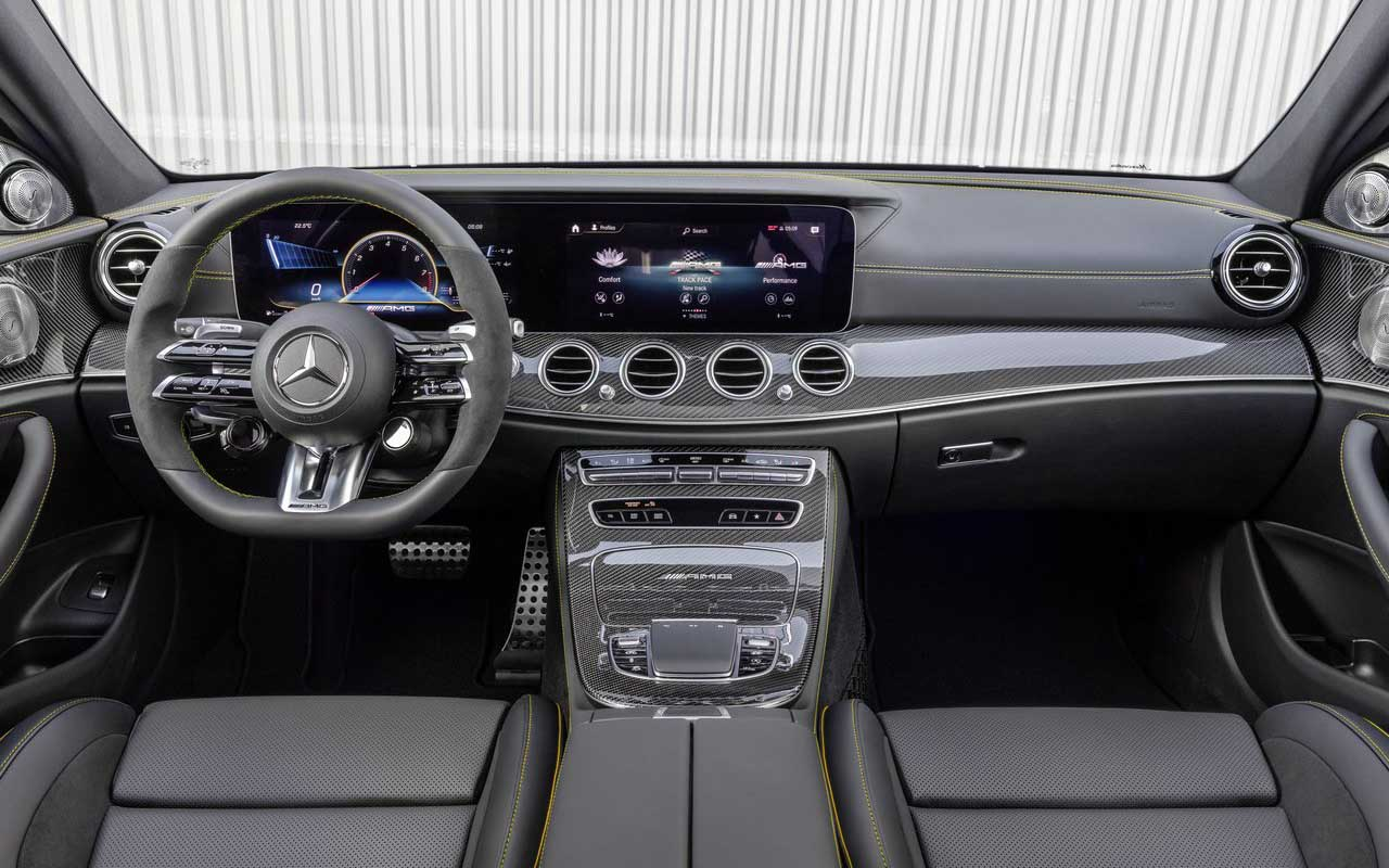 2021MY Mercedes-AMG E63 S - Interiors