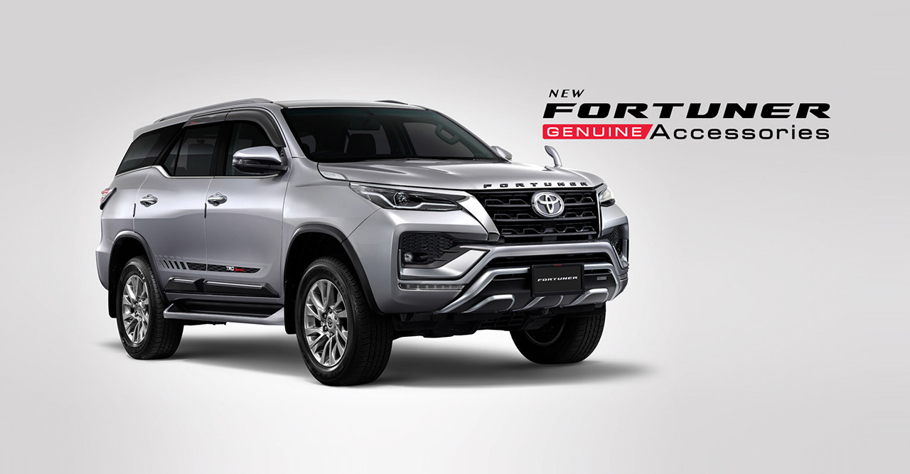 2021 Toyota Fortuner facelift with accessories