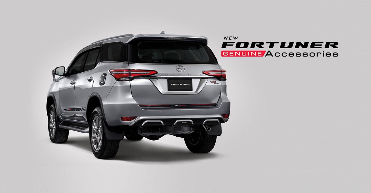 2021 Toyota Fortuner facelift - Exterior accessories