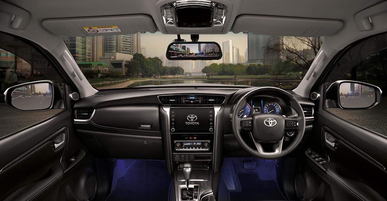 2021 Toyota Fortuner facelift - Interior accessories