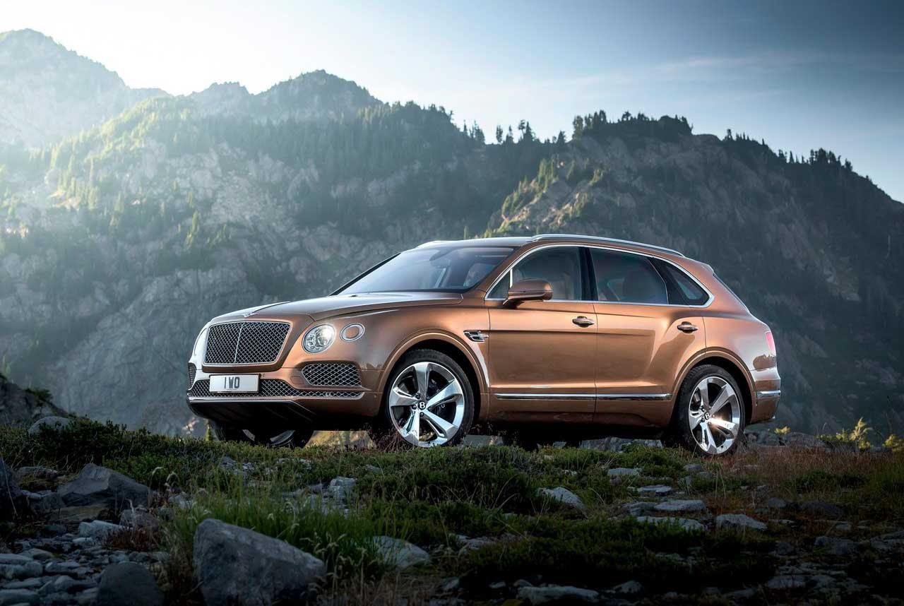 Bentley Bentayga SUV Poses Fire Risk – Company Issues Recall