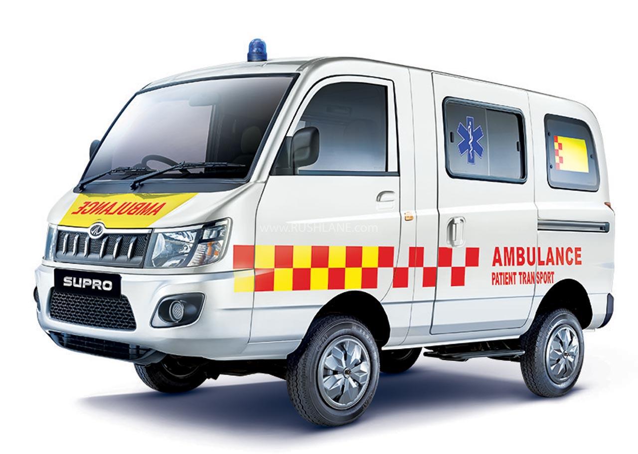 BS6 Mahindra Supro Ambulance